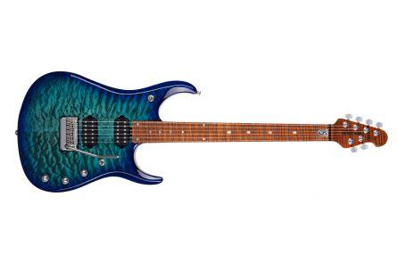 Music Man USA John Petrucci JP15 BFR CP - Cerulean Paradise Quilt