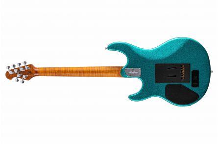 Music Man USA Luke III HSS OS - Ocean Sparkle