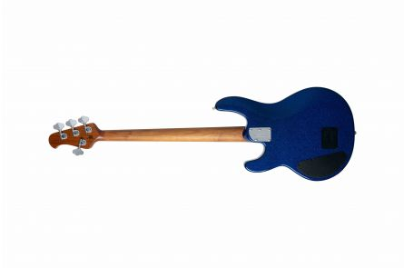 Music Man USA Stingray 4 Special HH BD - Tectonic Blue Sparkle