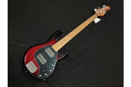 Music Man USA Stingray 5 Special HH BA - Burnt Apple MN
