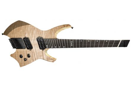 Ormsby Goliath GTR7 (Run 9) Headless Multiscale - Natural - ebony fb