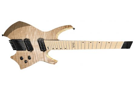 Ormsby Goliath GTR6 (Run 9) Headless Multiscale - Natural - maple fb