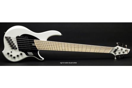 Dingwall NG3 Nolly Signature 6 DW - Ducati Pearl White Matte MN