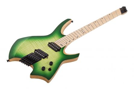 Ormsby Goliath GTR 6 (Run 4) Headless Mulitscale - Moore Edition Green Burst