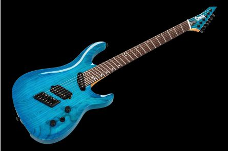 Ormsby SX Carved Top GTR6 (Run 10) Multiscale - Maya Blue Candy Gloss
