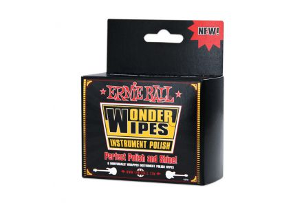 Ernie Ball 4278 Wonder Wipes Polish 6 Pack