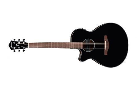 Ibanez AEG50L BK - Black High Gloss - lefthand