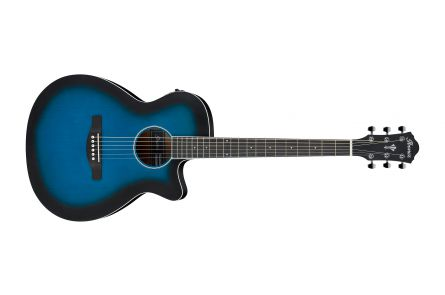 Ibanez AEG7 TBO - Transparent Blue Sunburst Open pore