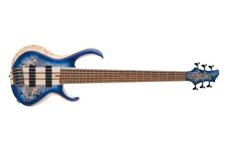 Ibanez BTB846 CBL- Cerulean Blue Burst Low Gloss