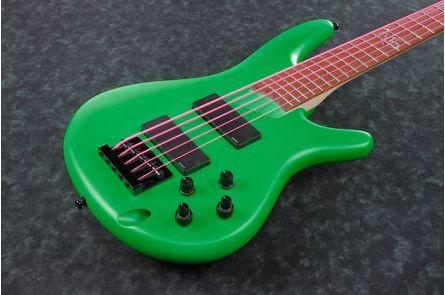 Ibanez K5LTD FGM Fieldy Korn Signature - Fluorescent Green Matte