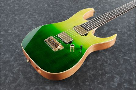 Ibanez LHM1 TGG Luke Hoskin Signature - Transparent Green Gradation - b-stock