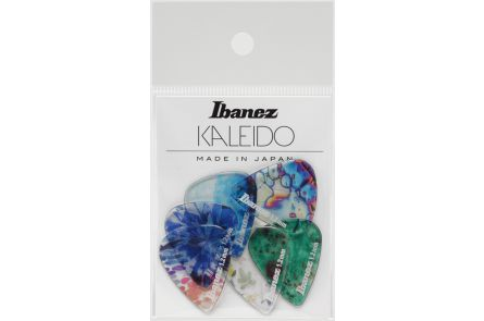 Ibanez PCP14XH-C1 KALEIDO Guitar Pick - 1.20mm - 6 Pack