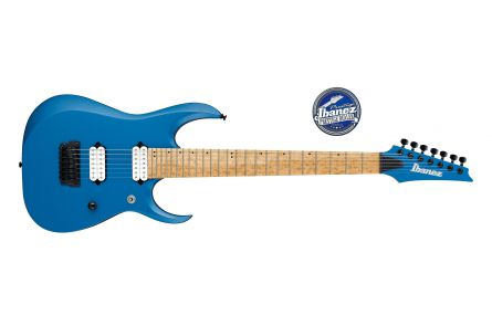 Ibanez RGDIR7M LBM Iron Label - Laser Blue Matte
