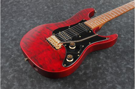 Ibanez SLM10 TRM Scott LePage Signature - Transparent Red Matte