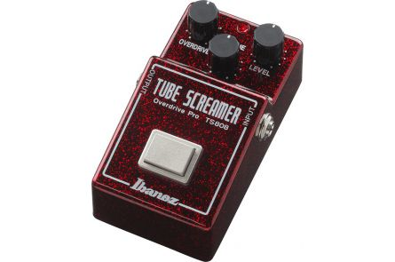 Ibanez TS808 40TH Tube Screamer - 40th Anniversary - limited Edition - Ruby Red Sparkle