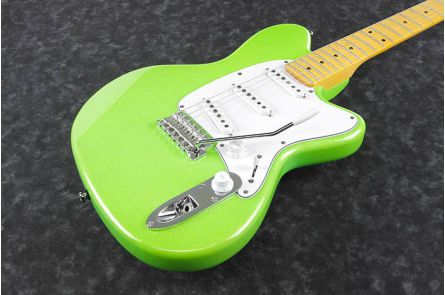 Ibanez YY10 SGS Yvette Young Signature - Slime Green Sparkle