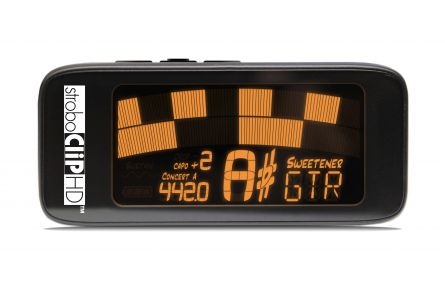 Peterson StroboClip HD Tuner - 0.1 cent accuracy & sweetened tunings
