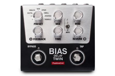 Positive Grid BIAS Delay Twin