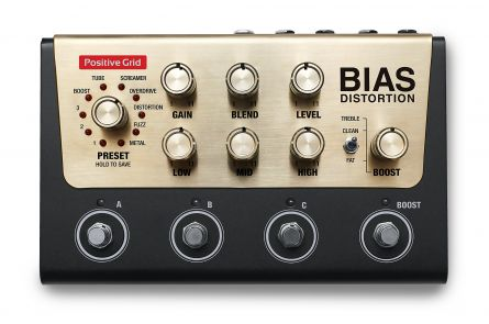 Positive Grid BIAS Distortion Pro