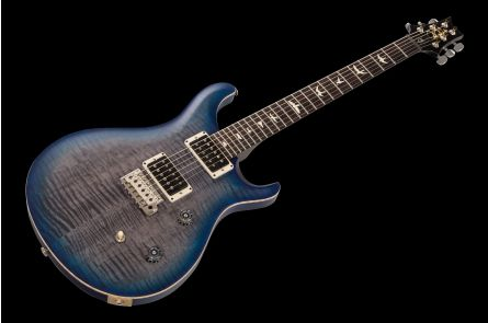 PRS USA CE 24 Satin Nitro Limited Edition Europe GY - Faded Grey Blueburst