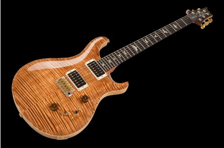 PRS USA Custom 24-08 Experience Wood Library Y7 (CP) - Copperhead Flame 10-Top
