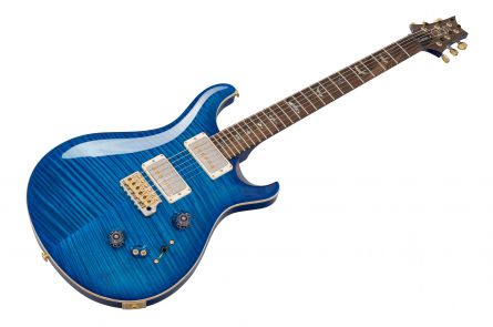 PRS USA Custom 24-08 Wood Library 10-Top Y6 (AE) - Aquamarine Flame - FM-Neck Ziricote 237500