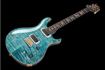 PRS USA Paul's Guitar Wood Library Trem AQ - Aqua - Private Stock Grade Quilt Top Korina Tasmanian Blackwood
