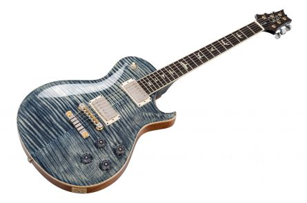 PRS USA McCarty Singlecut SC 594 Wood Library 10-Top T2 (FW) - Faded Whale Blue - FM-Neck