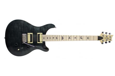 PRS SE Custom 24 GB - Gray Black - Maple LTD