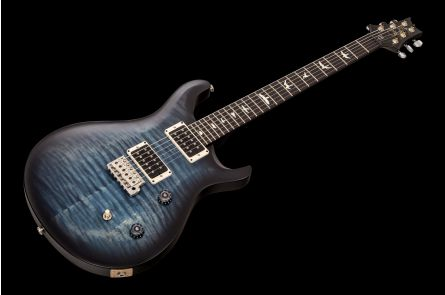PRS USA CE 24 CC - Whale Blue Smokedburst - Custom Color Satin EB FB Blackout Neck