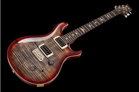PRS USA Custom 22 Trem CY - Charcoal Cherry Burst