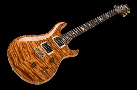 PRS USA Custom 24-08 Experience Wood Library Y7 (CP) - Copperhead Quilt - FM-Neck