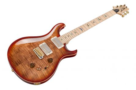PRS USA Custom 24-08 Wood Library 10-Top OB - Autumn Sky MN