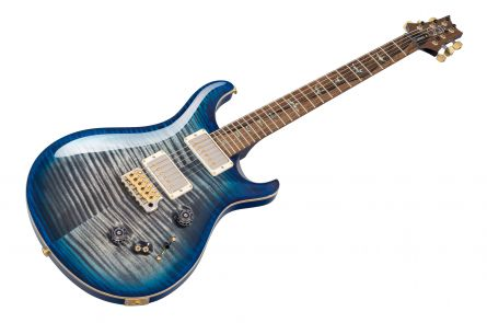 PRS USA Custom 24-08 Wood Library QB - Charcoal Blueburst 10-Top 236684