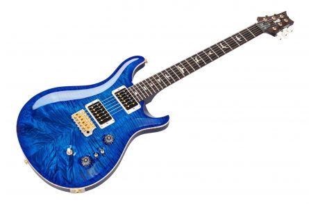 PRS USA Custom 24 35th Anniversary 10-Top CC - Aquamarine Blue Back - Custom Color - Limited Edition