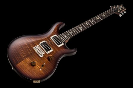 PRS USA Custom 24 Experience 10-Top ZF (BW) - Black Goldburst Satin Nitro - Rosewood neck