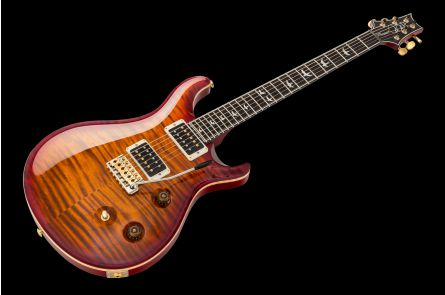 PRS USA Custom 24 Fatback Wood Library DS - Dark Cherry Sunburst - Ebony fretboard