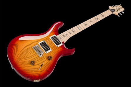 PRS USA Custom 24 DS - Dark Cherry Sunburst - Swamp Ash Body