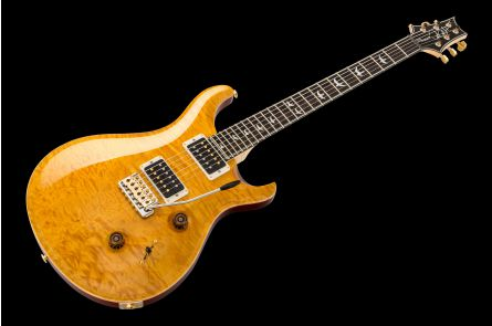 PRS USA Custom 24 Wood Library FD - Faded Vintage Yellow