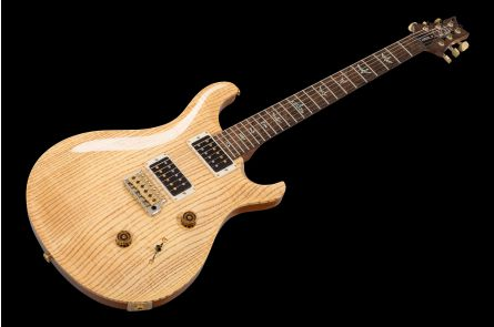 PRS USA Custom 24 Wood Library NA - Natural - Figured Ash Private Stock Grade Top - Hormigo Neck - Ziricote FB