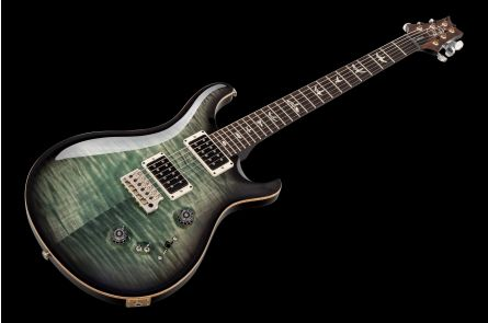 PRS USA Custom 24-08 CC - Trampas Green Smokedburst Custom Color