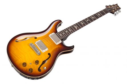 PRS USA Hollowbody II Piezo MT - McCarty Tobacco Sunburst