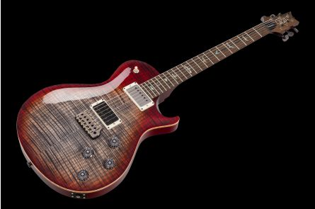 PRS USA Mark Tremonti Wood Library Y8 (CY) - Charcoal Cherry Burst - Artist Top & Neck