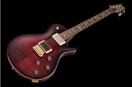 PRS USA Mark Tremonti Wood Library 10-Top Z1 (FR) - Fire Red Burst Satin - Korina FM-Neck Ziricote HYB