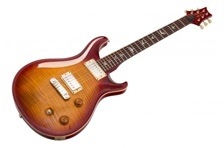 PRS USA McCarty 10-Top Birds - Sunburst