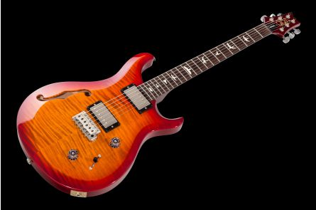 PRS USA S2 Custom 22 Semi-Hollow DS - Dark Cherry Sunburst