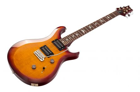 PRS USA S2 Custom 24 Birds DCS - Dark Cherry Sunburst