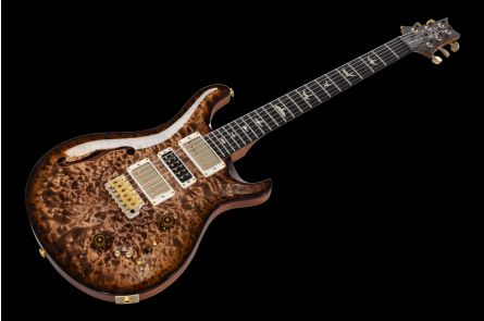 PRS USA Special 22 Semi-Hollow 10-Top Wood Library - Copperhead Quilt