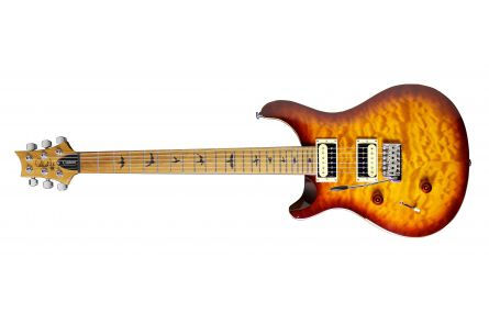 PRS SE Custom 24 Lefthand TN - Tobacco Sunburst - Roasted Maple LTD