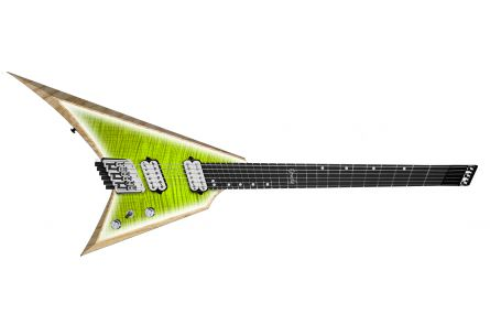 Ormsby Metal V GTR 8 (Run 16) Headless Multiscale FM PL - Pine Lime